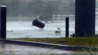 Download Hurricane Gustav Land Fall- Houma, LA September 1st, 2008 [HD] Video
