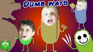 Download SILLY WAYS TO GO! iPhone Game App with FUNNY SKIT HobbyKidsGaming Video