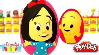 Download Huevos Sorpresa de La Familia Telerín en Español de Plastilina Play Doh Video