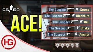 Download Pistol Ace = Ban? (CS:GO Overwatch #26) Video