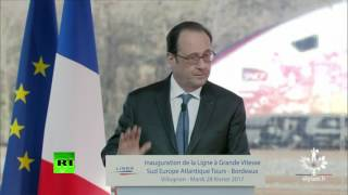 Download Moment police sniper fires shots during Hollande speech. Zero f... French baguettes were given Video