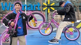 Download WE BOUGHT AN $80 WALMART BMX BIKE DESTROYED IT AND THEN RETURNED IT! Video