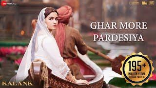 Download Ghar More Pardesiya - Kalank | Varun, Alia & Madhuri| Shreya & Vaishali| Pritam| Amitabh| Abhishek Video