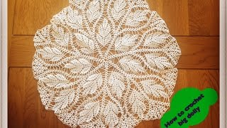 Download How to crochet big doily 17″ diameter - Part 1 of 3 Video