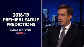 Download Neville and Carragher make their 2018/19 Premier League predictions! (Golden Boot/POTY/Top 4) | MNF Video