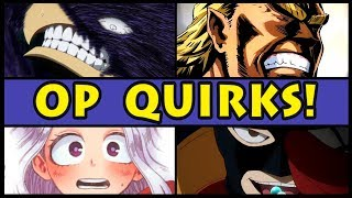 Download Top 10 OVERPOWERED Quirks in My Hero Academia! (Boku no Hero Academia Most OP Quirk / Season 3 / S3) Video