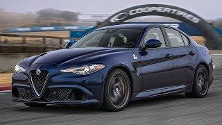 Download 2017 Alfa Romeo Giulia Quadrifoglio Hot Lap! - 2017 Best Driver's Car Contender Video