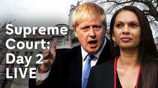 Download Supreme Court parliament suspension hearing: Day 2 LIVE   Brexit Video