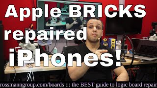 Download Apple iOS update BRICKS repaired iPhones after screen repair! Video