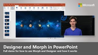 Download How to use Designer and Morph in PowerPoint to make better presentations Video