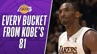 Download Watch All of Kobe's 81 Points in 3 Minutes Video