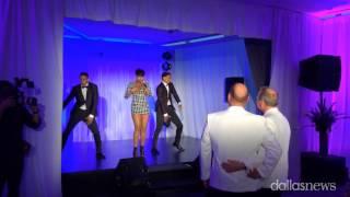 Download Jennifer Hudson surprises gay couple at Dallas wedding Video
