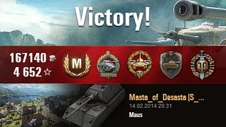 Download WoT - Mighty Maus Battle Video
