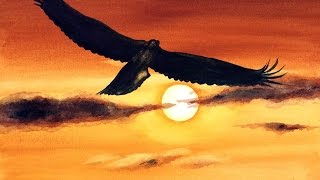 Download Easy Watercolor Eagle Painting Demonstration Video