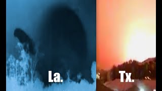 Download Strange sky events recorded in Texas AND Louisiana on night of snowstorm! Video