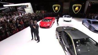 Download Lamborghini Centenario: 2016 Geneva Motor Show Press Conference Video