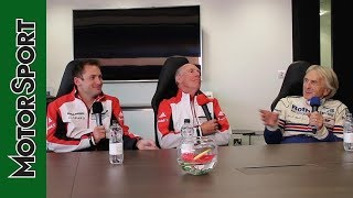 Download Richard Attwood, Derek Bell and Nick Tandy podcast, in association with Mercedes-Benz Video