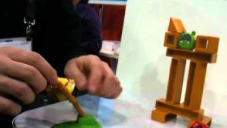 Download CES 2011 - Angry Birds, the toy! by Mattel Video
