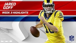 Download Jared Goff Displays Pinpoint Accuracy with 3 TDs! 🎯 | Rams vs. 49ers | Wk 3 Player Highlights Video