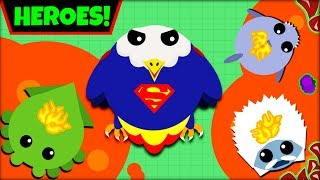 Download MOPE.IO HEROES *SUPERMAN* | SAVING EVERYONE IN MOPE.IO | MOPE.IO NEW ANIMALS(mope.io update) Video