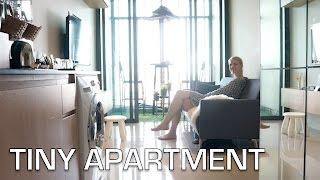 Download Small Apartment Space home tour | Interior design ideas (Bangkok) Video