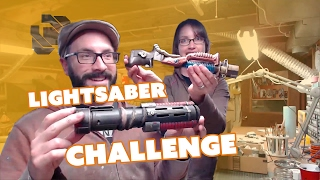 Download Lightsaber Build - $20 Challenge - Prop: Live from the Shop Video
