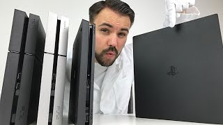 Download PS4 PRO - Alle Unterschiede zur Slim & normalen PS4 - Unboxing und Vergleich - Dr. UnboxKing Video