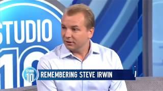 Download Steve Irwin's Last Words: Interview With His Underwater Cameraman Part 1   Studio 10 Video