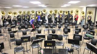 Download Miles College Marching Band's ″Thunder″ (Band Room) - 2015 Video