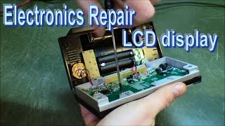 Download Repair LCD display by cleaning zebra stripes - 148 Video