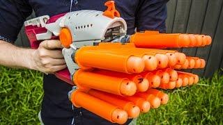 Download NERF MEGA SHOTGUN PROTOTYPE - Thunder Hornet Overview Video