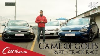 Download New Golf R vs Golf GTI vs Golf GTD - Track Race Shootout Video
