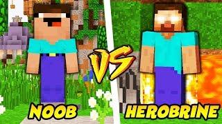 Download NOOB VS HEROBRINE || TROLL NOOBA W MINECRAFT! Video