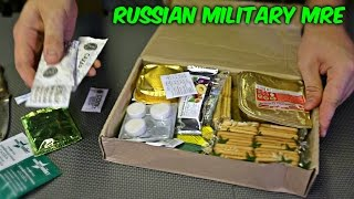 Download Testing Russian Military MRE (Meal Ready to Eat) Video