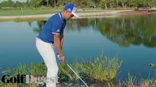 Download Rickie Fowler Teaches How To Skip A Ball On Water | Golf Digest Video