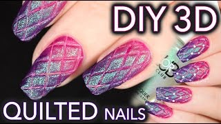 Download Matte quilted nails the EASY DIY WAY Video