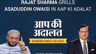 Download Asaduddin Owaisi In Aap Ki Adalat (Full Episode) - India TV Video