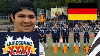 Download GERMAN GIRLS PLAYING TACKLE FOOTBALL *AWESOME* Video