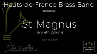 Download St Magnus (Kenneth Downie) / Hauts-de-France Brass Band Video