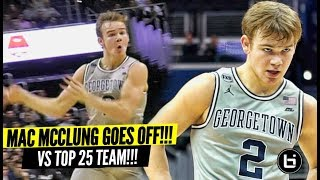 Download Mac McClung GOES OFF vs Marquette!! Proves Haters Wrong AGAIN! ″You Going to Georgetown To Sit!″ LOL Video
