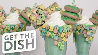 Download How to Make a Lucky Charms Milkshake   Get the Dish Video
