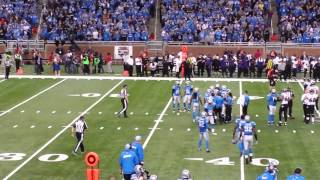 Download Baltimore at Detroit, 12/16/2013. Justin Tucker wins game with 61 yard FG Video