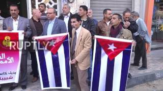Download State of Palestine: 'Viva Castro! Viva Cuba!' Gaza marks death of Fidel Video
