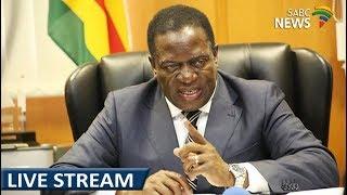 Download Mnangagwa addresses masses on his return in Zimbabwe, 22 November 2017 Video