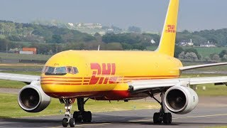 Download DHL Boeing 757-200F Circuit Training at Prestwick Airport | May 2017 Video
