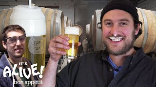 Download Brad Makes Beer | It's Alive | Bon Appétit Video