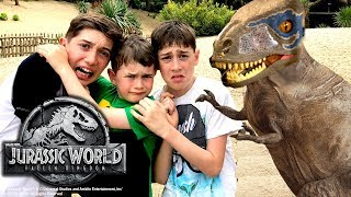 Download Jurassic World Kids Parody – Thrilling Jurassic World Dinosaur Hunt!! Video