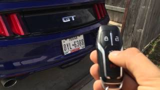 Download 2015 Mustang Keyless Features Video