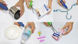 Download 6 Creative Way to Recycle Waste Materials! How to recycle| best reuse idea Video