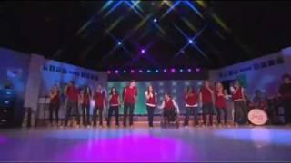 Download UltimateGleeks Bringing You The Glee Cast Singing ″Don't Stop Believin'″ Live On Oprah! Video